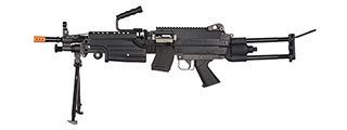 CA-CA007M FULL METAL CA249 PARA SAW AIRSOFT MACHINE GUN AEG (BLACK)