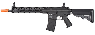 CA-ENF004P KM12 SKIRMISH SERIES M4 AIRSOFT AEG RIFLE (BLACK)