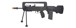 CB-400906 LICENSED POLYMER FAMAS F1 EVO AIRSOFT AEG RIFLE (BLACK)