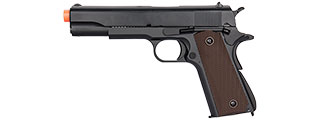 DOUBLE BELL M1911 GBB AIRSOFT PISTOL TYPE 1 - LOW VELOCITY (BLACK)
