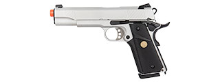 DOUBLE BELL MEU GBB GAS BLOWBACK AIRSOFT PISTOL (SILVER)