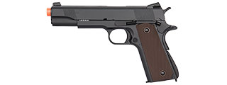 DOUBLE BELL M1911 GBB AIRSOFT PISTOL TYPE 2 - LOW VELOCITY (BLACK)