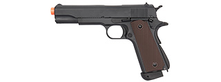 DOUBLE BELL M1911 CO2 AIRSOFT PISTOL TYPE 1 - HIGH VELOCITY (BLACK)