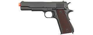 DOUBLE BELL1911 GAS BLOWBACK AIRSOFT PISTOL (BLACK)