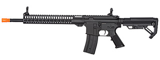 "Golden Eagle F6645 KeyMod 16"" M4 Airsoft AEG Rifle (BLACK)"