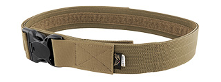 "FY-BTB01CB-L 2"" QD NYLON TACTICAL DUTY BELT - LARGE (COYOTE BROWN)"