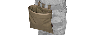 FY-PHM13KH SNAP-BUTTON TACTICAL ROLL-UP DROP POUCH (KHAKI)