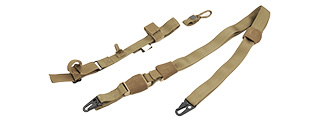 FY-SLS03CB 1000D NYLON TACTICAL THREE POINT SLING (COYOTE BROWN)