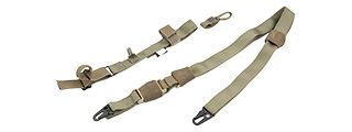 FY-SLS03RG 1000D NYLON TACTICAL THREE POINT SLING (RANGER GREEN)