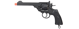 G293 FULL METAL CO2 POWERED REVOLVER PISTOL (BK)