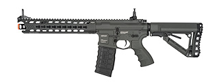 G&G GC16 FULL METAL COMBAT MACHINE PREDATOR AEG WITH KEYMOD RAIL (GREY)