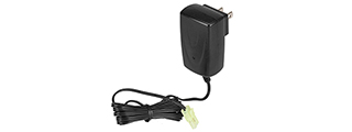AMA 9.6V INDOOR SWITCHING POWER SUPPLY CHARGER - BLACK