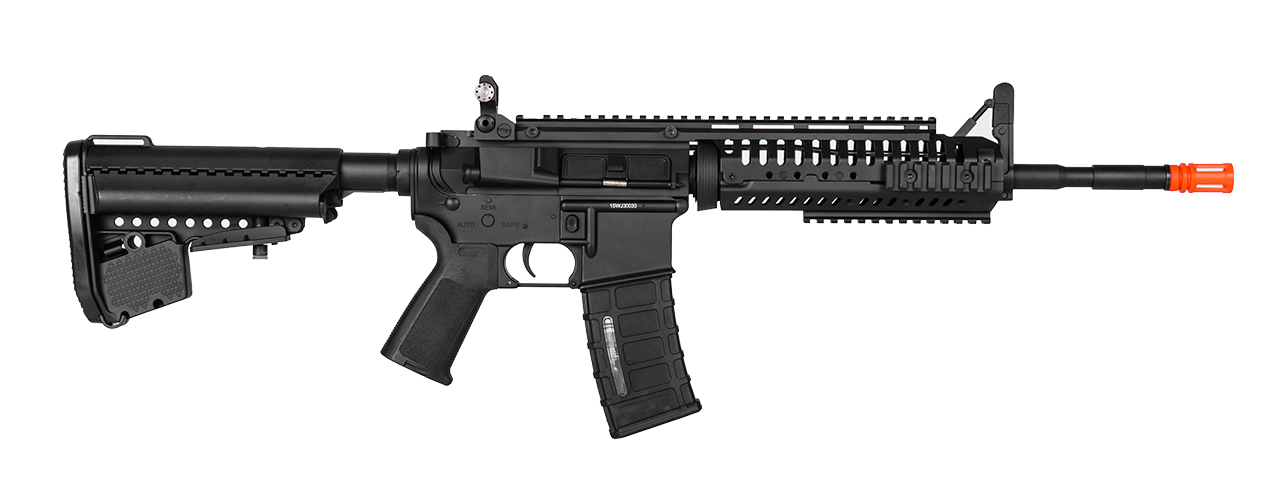 IU-CASB-NB M4 w/RAIL SYSTEM FULL METAL AEG (COLOR: BLACK)