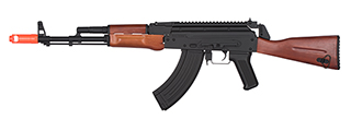 JG1021 AK-47 FULL STOCK METAL ELECTRIC BLOWBACK AEG RIFLE (BLACK)