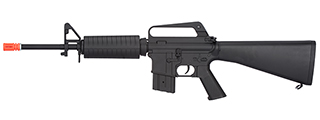 JG4006T FULL STOCK METAL M4 CARBINE AIRSOFT AEG RIFLE (BLACK)