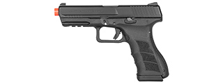 KWA Airsoft Full Metal ATP GBB Pistol w/ Accessory Rail - BLACK