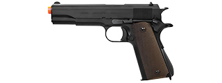 KWA FULL METAL G.I. WWII M1911A1 GAS BLOWBACK GBB AIRSOFT PISTOL