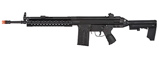 LCT-LC-3AR-AEG LC-3 AR AIRSOFT AEG W/ RIS HANDRAIL AND AR STOCK (BLACK)