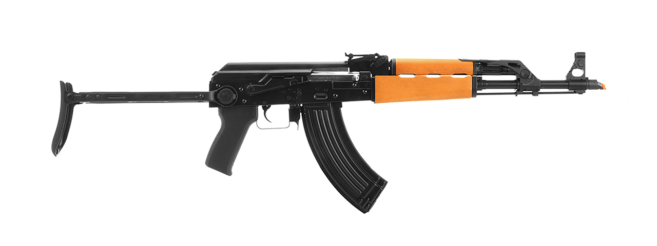 LCT AIRSOFT M70 AK47 AEG W/ WOOD HANDGUARD - BLACK
