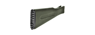 LCT AIRSOFT AK SERIES AEG PLASTIC FIXED STOCK - OLIVE