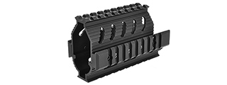 LCT AIRSOFT AK SERIES AEG TX-3 TACTICAL FREE FLOAT RIS HANDGUARD-BLK