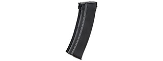 LCT AK SERIES AEG 130 RD AIRSOFT MID-CAPACITY STEEL MAGAZINE - BLK