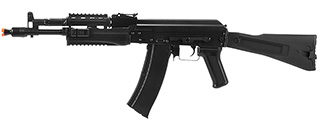 LCT AIRSOFT AK-102 ASSAULT RIFLE AEG W/ FOLDING STOCK - BLACK