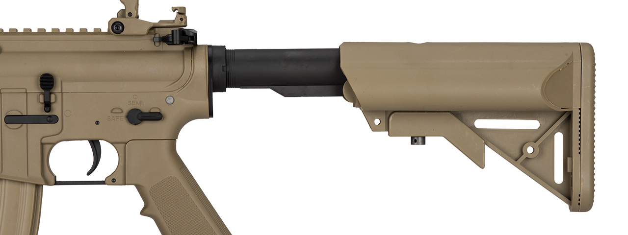 LT-02CL-G2 LOW FPS MK18 NYLON POLYMER MOD 0 AEG AIRSOFT RIFLE (TAN)