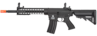 LT-12BKL-G2 M4 KEYMOD LOW FPS EVO AEG POLYMER AIRSOFT RIFLE (BLACK)