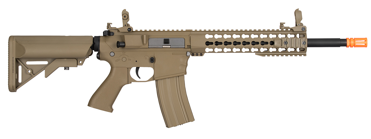 LT-12TKL-G2 LOW FPS M4 KEYMOD EVO AEG POLYMER AIRSOFT RIFLE (TAN)