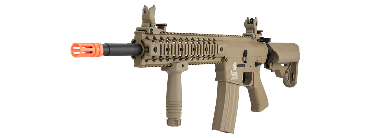 LT-12TL-G2 LOW FPS M4 RIS EVO AEG POLYMER AIRSOFT RIFLE (TAN)