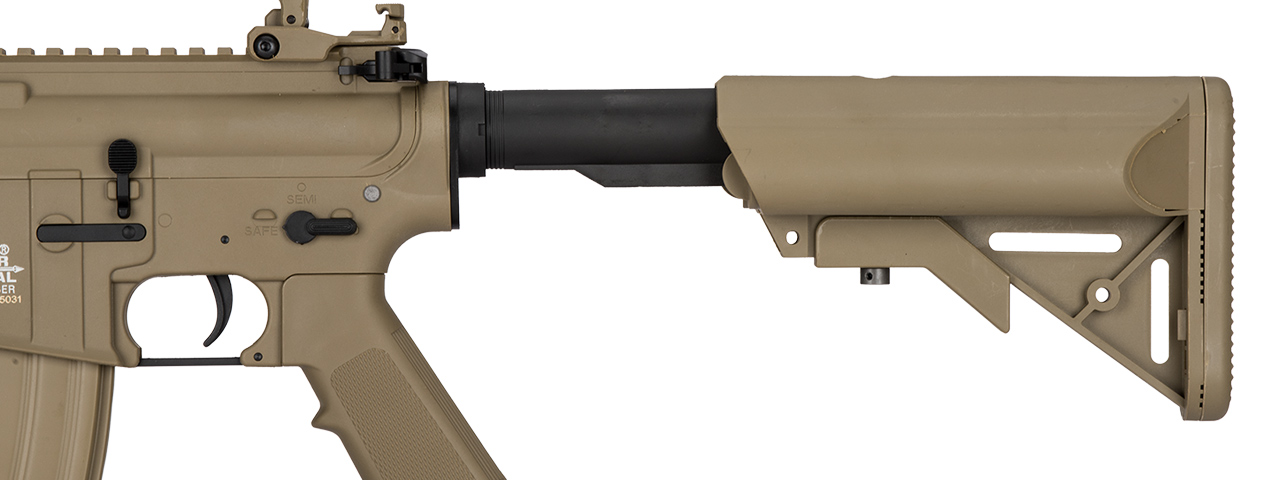LT-15CT-G2 NYLON POLYMER M4 GEN 2 SD AEG AIRSOFT RIFLE (TAN)