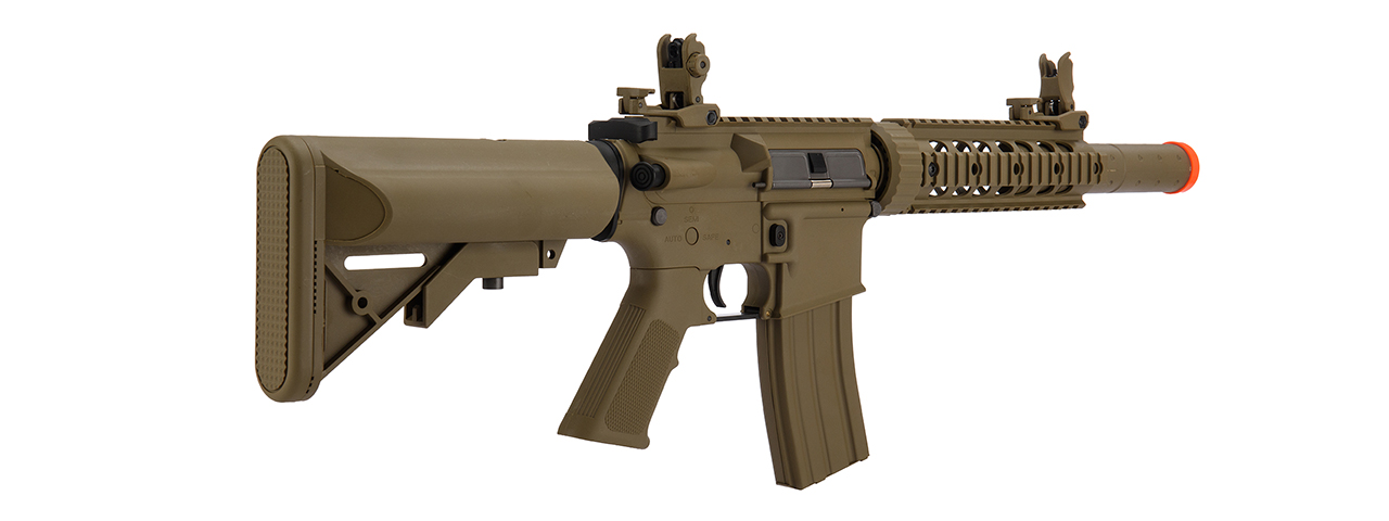 LT-15TL-G2 AIRSOFT POLYMER M4 LOW FPS GEN 2 SD AEG RIFLE (TAN)