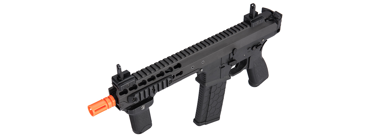 "LT-200BC WARLORD 8"" INCH TYPE C METAL AEG AIRSOFT SMG (BLACK)"