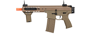 "LT-200TC WARLORD 8"" INCH TYPE C METAL AEG AIRSOFT SMG (DARK EARTH)"