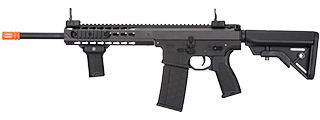 "LT-201BBL WARLORD 10.5"" AEG TYPE B CARBINE AIRSOFT RIFLE, LOW FPS VERSION (BK)"