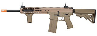 "LT-201TB WARLORD 10.5"" AEG TYPE B CARBINE AIRSOFT RIFLE (DARK EARTH)"