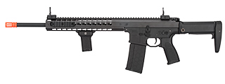 "LT-202BA WARLORD 18"" AEG TYPE A DMR AIRSOFT RIFLE (BLACK)"