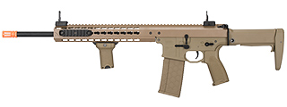 "LT-202TA WARLORD 18"" AEG TYPE A DMR AIRSOFT RIFLE (DARK EARTH)"