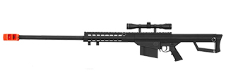 LT-20BA M82 SPRING BOLT ACTION SNIPER RIFLE W/ SCOPE (BLACK)