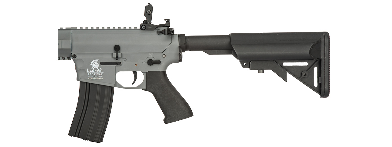 "LT-25Y-G2 M4 SPR ""INTERCEPTOR"" LT-25 AIRSOFT AEG RIFLE (GRAY)"