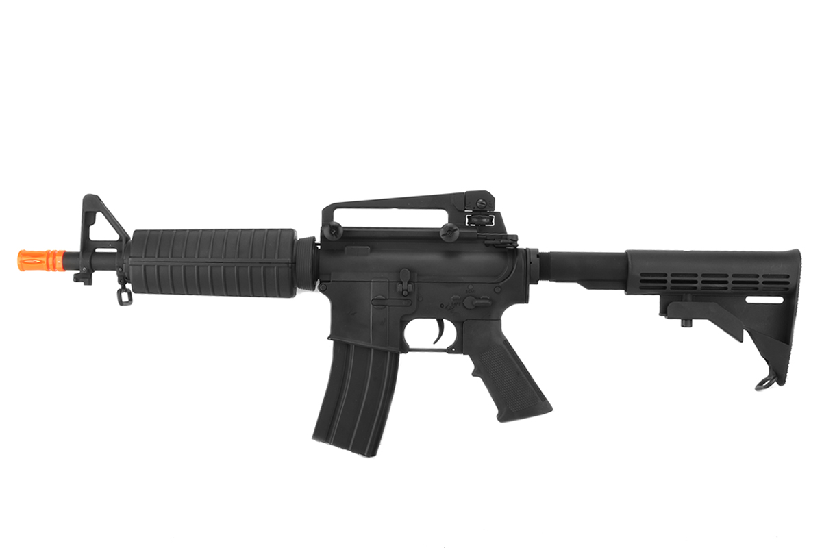 LT-7018 FULL METAL M4 COMMANDO CQB AIRSOFT GUN AEG RIFLE