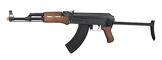 LT-728S ABS AK47 AIRSOFT CQB AEG AIRSOFT RIFLE W/ FOLDING STOCK (WOOD)