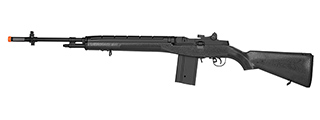 "LANCER TACTICAL LT-732 FULL STOCK 44"" M14 SOCOM AIRSOFT AEG (BLACK)"