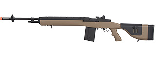 "LANCER TACTICAL LT-732 DMR STOCK 45"" M14 SOCOM AIRSOFT AEG (TAN)"