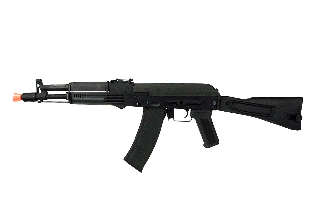 LT-740D AIRSOFT AK-105 AEG FULL METAL SIDE FOLDING STOCK