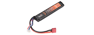 LT7.4V1100ST 15C 7.4V 1100 MAH STICK LIPO BATTERY (BLACK)