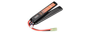 LT7.4V2000N 15C 7.4V 2000 MAH BUTTERFLY LIPO BATTERY (BLACK)