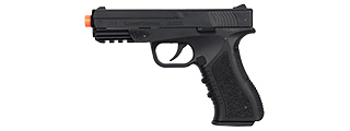 Lancer Tactical Defender LTX-3 CO2 Half-Blowback Airsoft Pistol (BLACK)