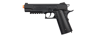 Lancer Tactical Cobra LTX-50 1911 CO2 Half-Blowback Airsoft Pistol (BLACK)